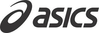 Logo de la marca ASICS